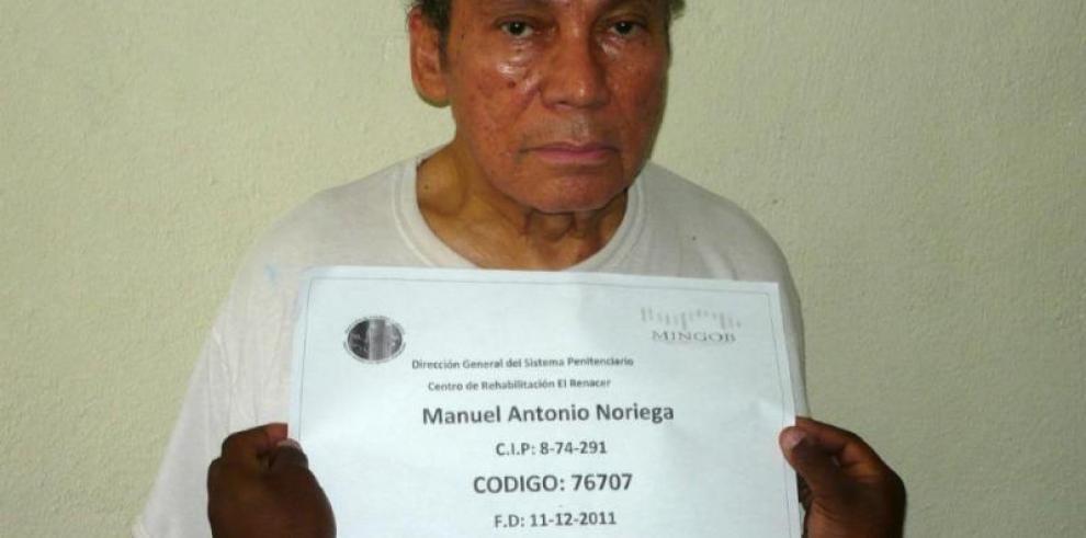 Exgeneral Manuel Antonio Noriega será operado el lunes 18