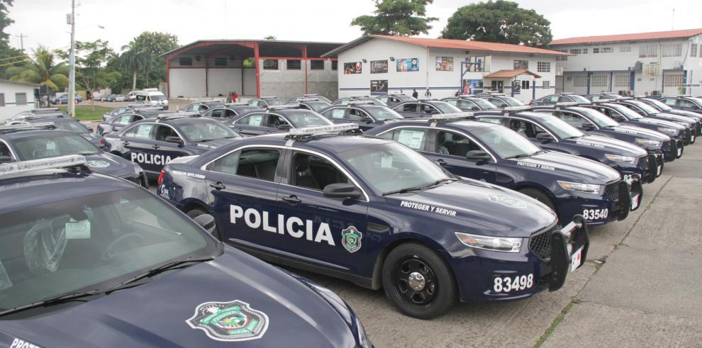 PN recibe donación de 45 vehículos Ford interceptores
