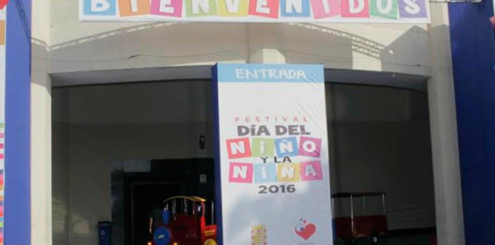 Este viernes se inauguró el Festival del Día del Niño y la Niña