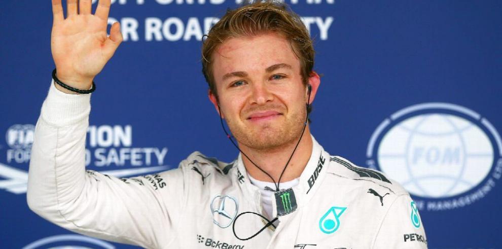 Un sorpresivo adiós le da Nico Rosberg a la F-1