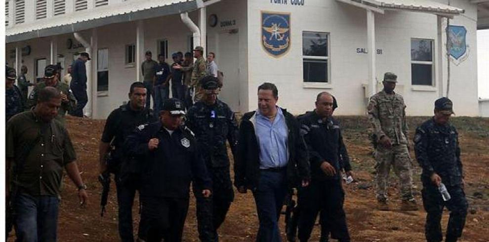 Varela: 'La cárcel de Punta Coco se va a mantener abierta'