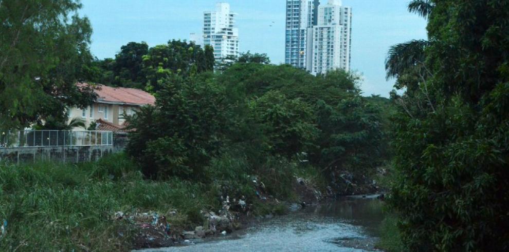 La ciudad, a ras del río