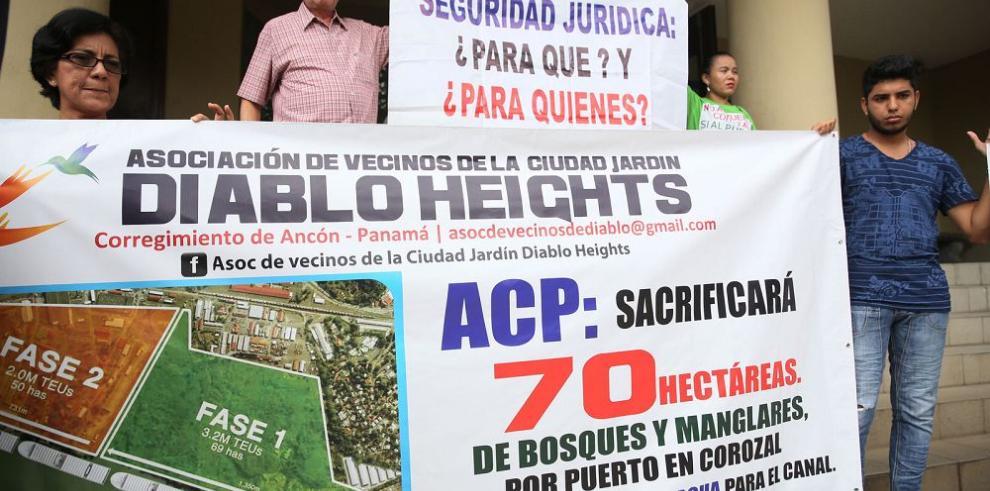 Residentes de Diablo presentan amparo contra orden de ACP