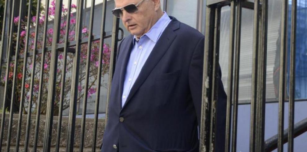 La extradición de Martinelli queda en manos de la Cancillería