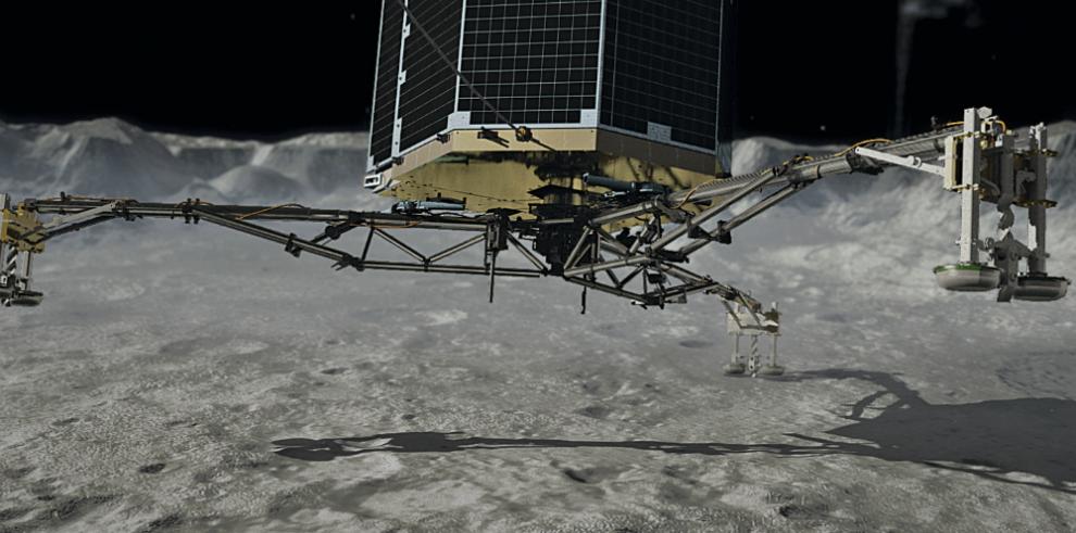 Rosetta descubre una región sin campo magnético en el cometa que estudia