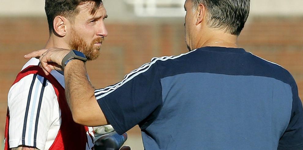 Messi apunta a titular y Di María no se recupera para Venezuela
