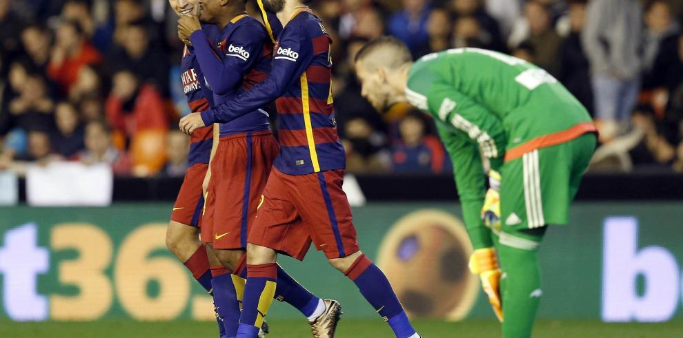 Barcelona lleno de suplentes certifica el pase a final de Copa