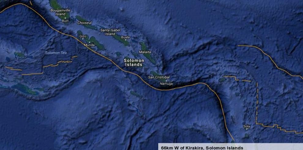 Un terremoto de 7,7 en las islas Salomóndispara aviso de tsunami