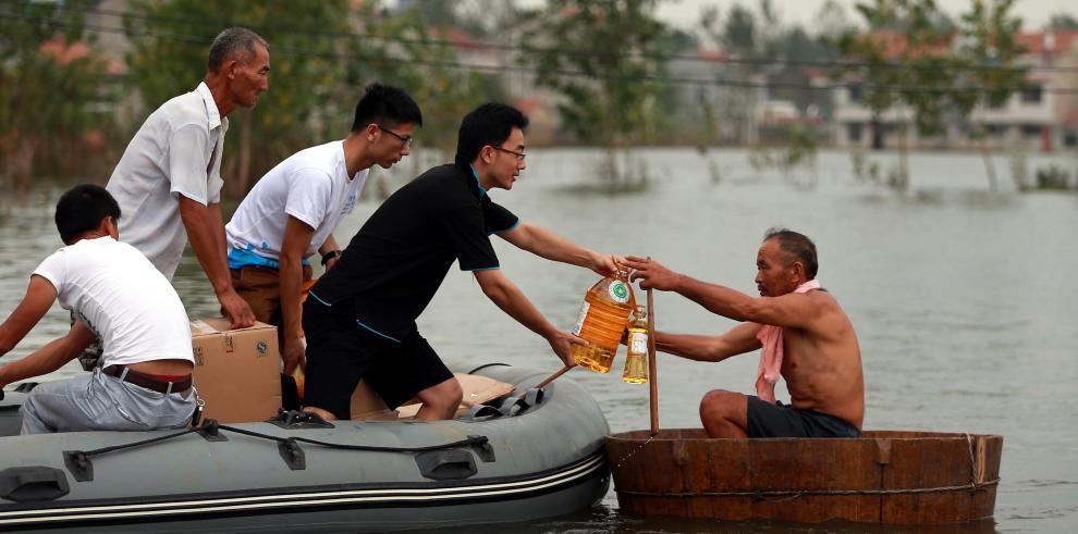 Fuertes lluvias causan más de 100 muertos en norte y centro de China