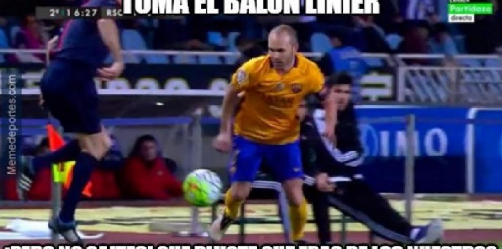 Memes de la derrota del Barcelona antela Real Sociedad