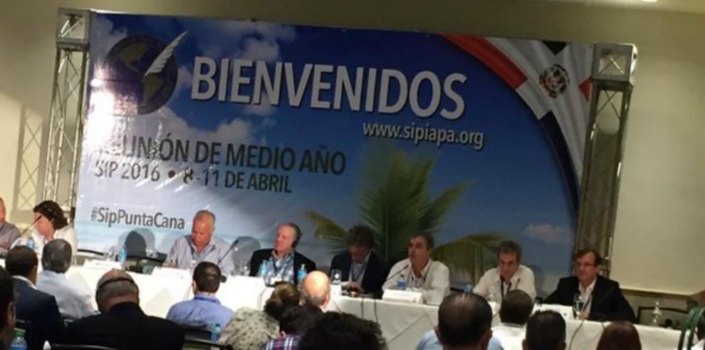 Panamá presenta informe ante la SIP