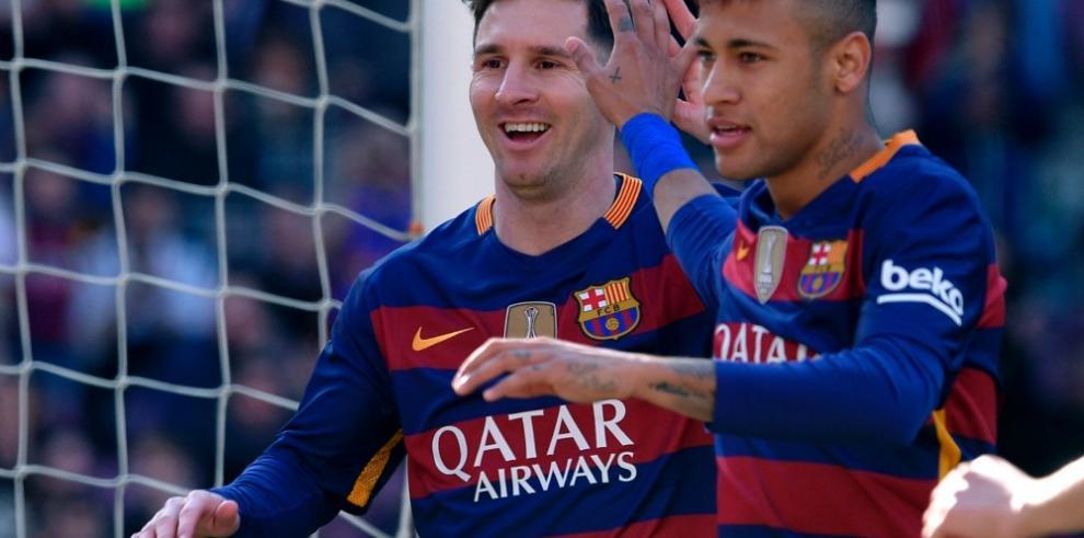 El Barcelona golea al Getafe con otra exhibición de Messi y Neymar