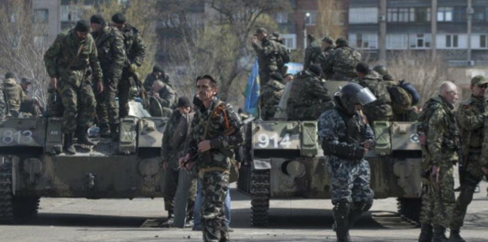 Dos soldados muertos en Ucrania en choques con con separatistas