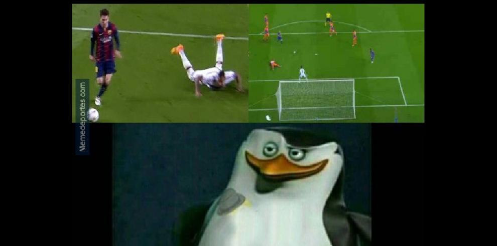 Memes del encuentro Barcelona - Manchester City