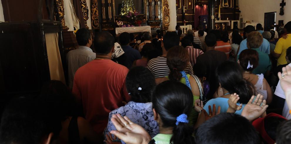 Iglesia católica convoca a vigilia de oración por la paz en Colón