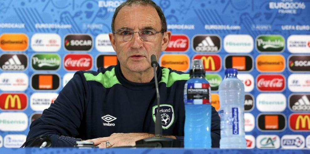 Técnico de Irlanda espera a una Bélgica combativa