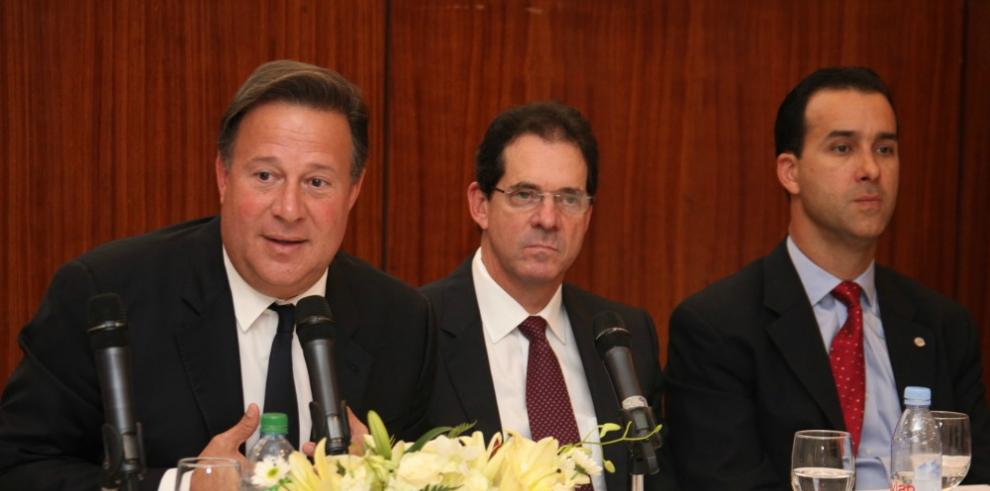 Presidente Varela se reúne con gremio de empresarios