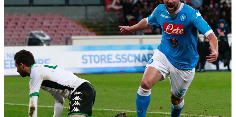 Higuaín es el máximo artillero en el fútbol italiano