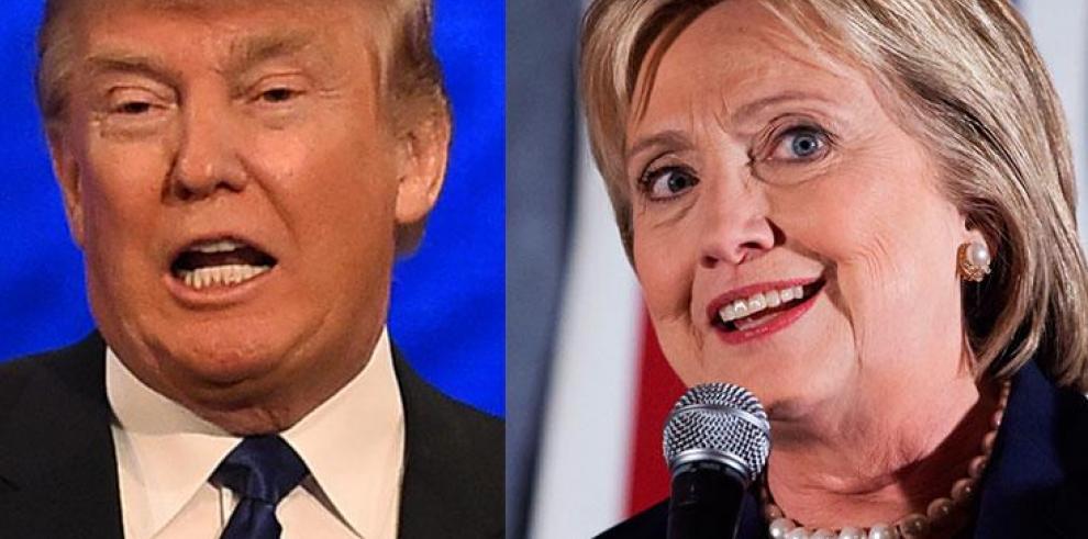 La batalla por la Casa Blanca continúa hoy en cinco estados
