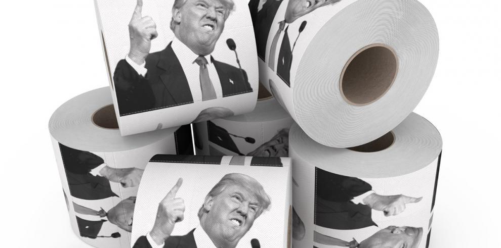Papel-Baño con imagen de Trump gana popularidad en Estados Unidos