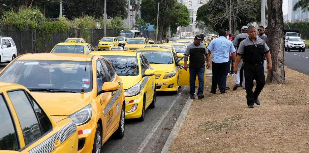 Los taxistas contra Uber