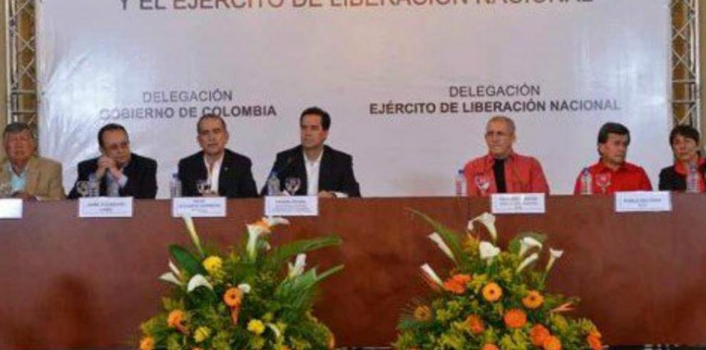 Gobierno colombiano y ELN inician negociaciones de paz