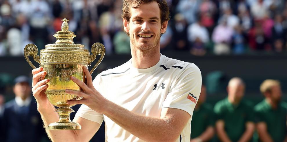 Murray vence a Raonic y logra su segundo Wimbledon