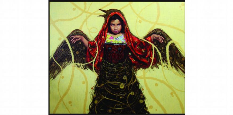 Artista guna en portada de la revista 'First American Art'
