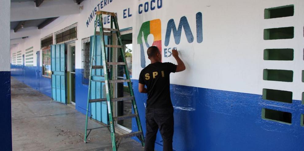 Escuelas de Panamá Oeste, casi listas para el inicio de clases