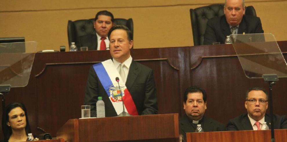 Varela le rindió cuenta a los panameños tras el inicio del nuevo año