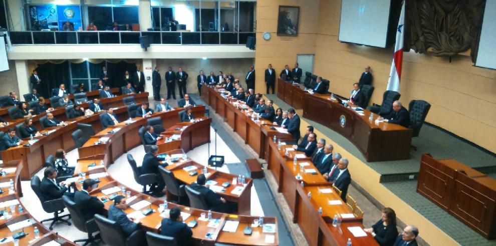 El presidente de la Asamblea realizó su rendición de cuenta al Estado