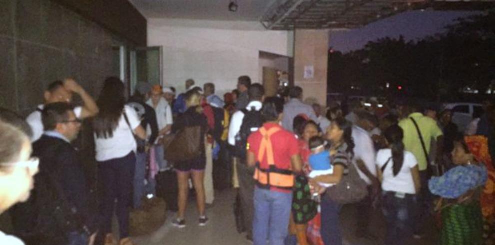 Vuelos del Aeropuerto de Albrook se atrasan por falta de luz