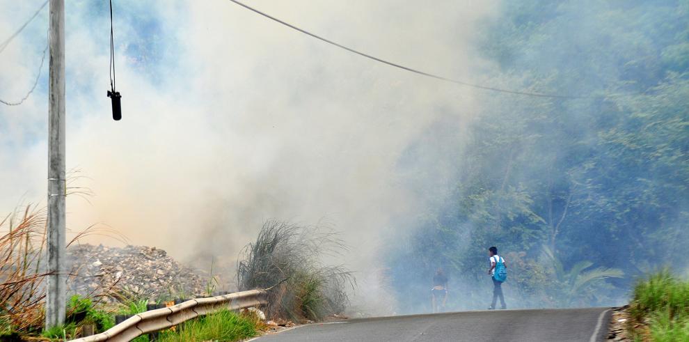En lo que va del año han ocurrido 2,032 incendios de masa vegetal