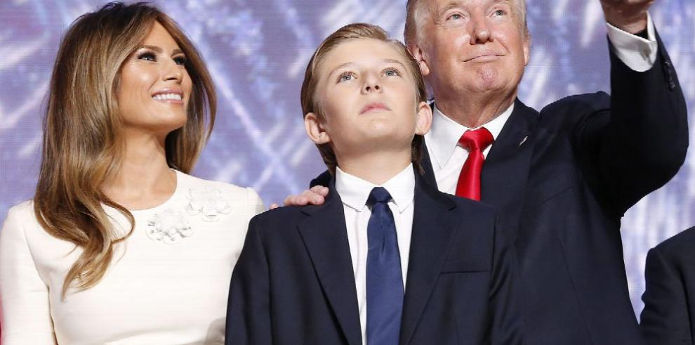 Melania, la nueva primera dama de EE.UU.
