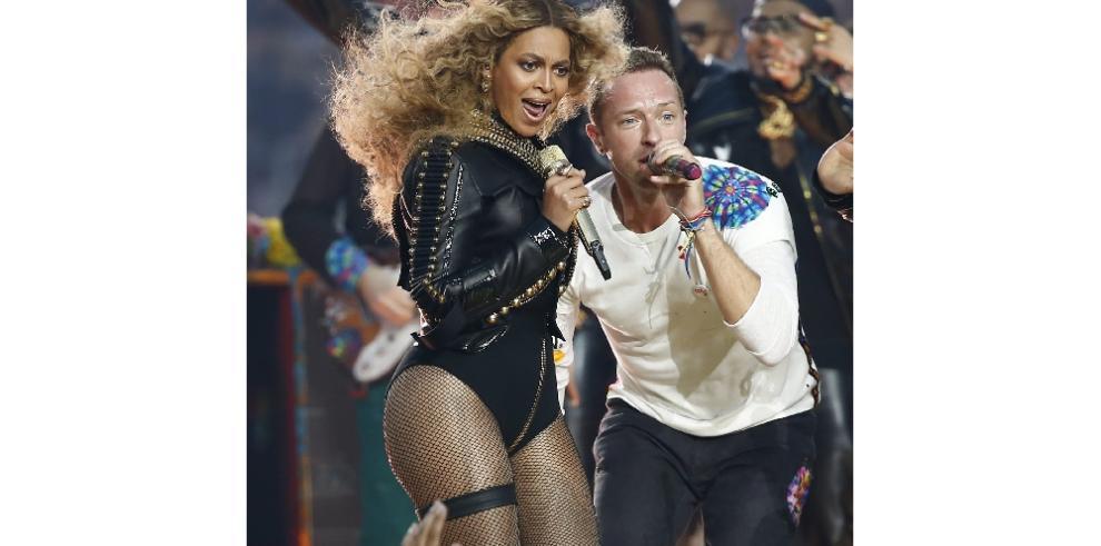 Coldplay, Beyoncé y Bruno Mars encendieron el show del Super Bowl