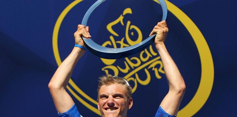 El alemán Kittel reina en la Vuelta a Dubai