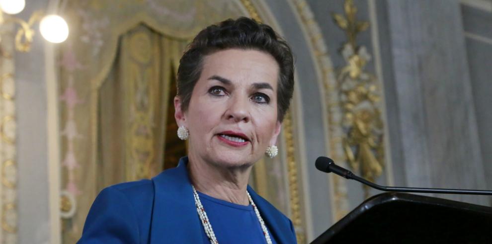 La costarricense Christiana Figueresbusca dirigir la ONU