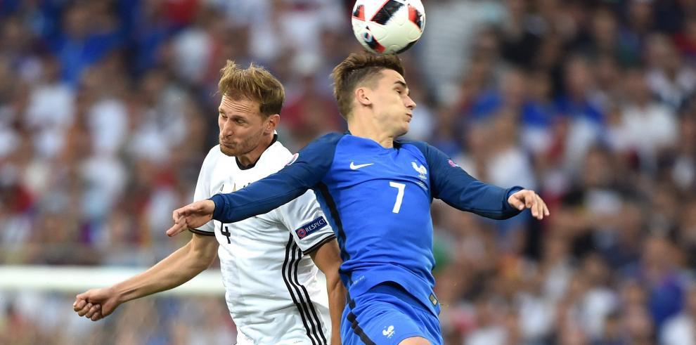 Griezmann mete a Francia en la final de la Eurocopa