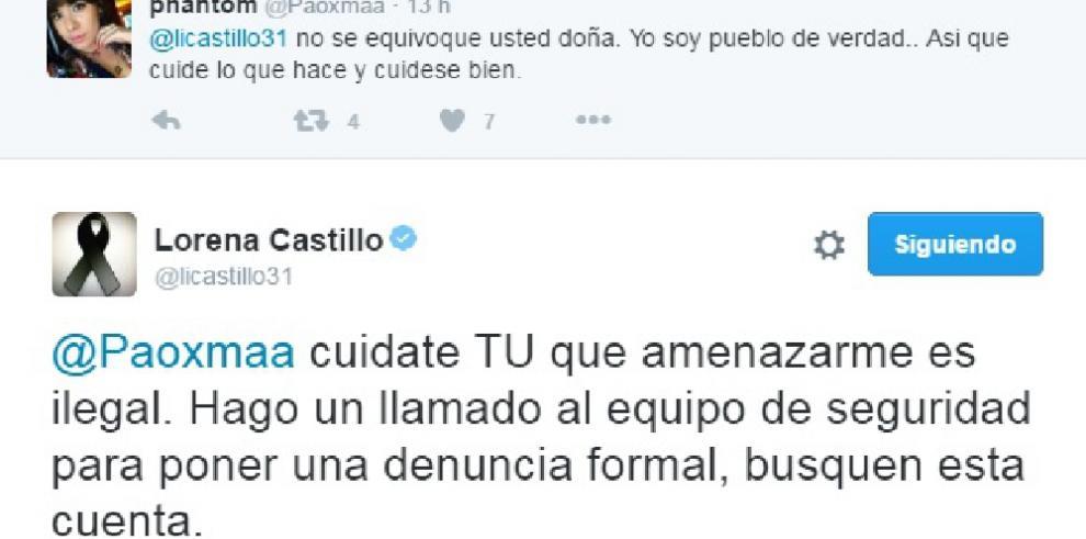 Lorena Castillo pierde la paciencia y se enfrenta a