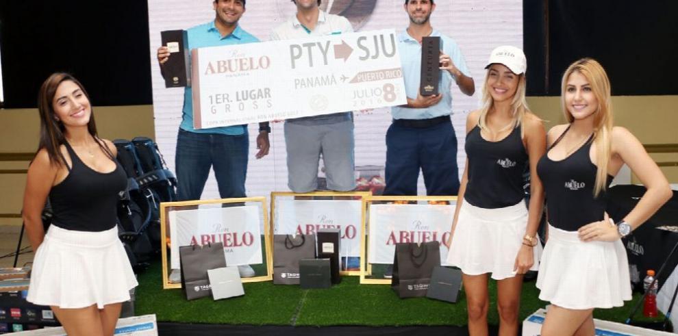 Golfistas panameños se llevan los honores