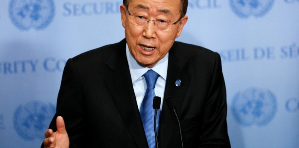 Ban pide apoyo a EE.UU. y Rusia para facilitar la ayuda en Siria