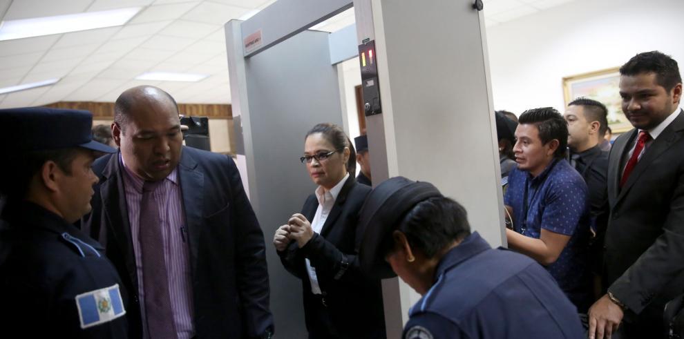 Imputaciones por lavado de dinero implican a Pérez Molina y Baldetti