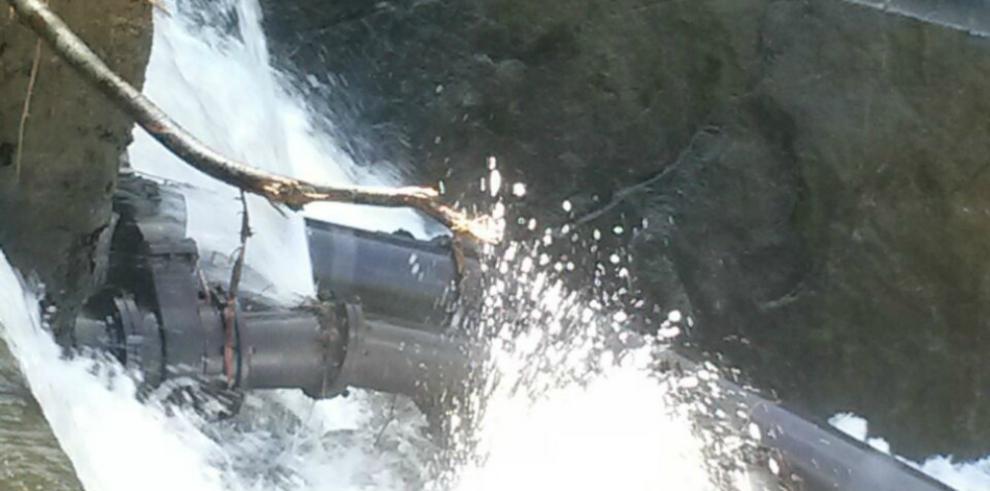 Potablizadora de Cabra, fuera de servicio por obstrucción