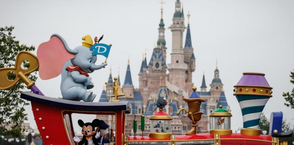 Disney abre mañana su parque temático de Shanghái