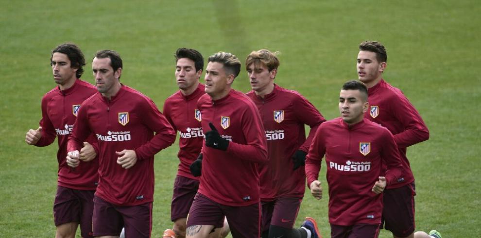 Atlético se prepara