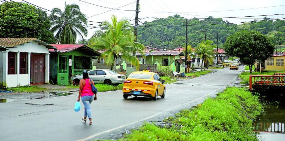 Nuevo Colón: residentes con casas, pero sin título de propiedad