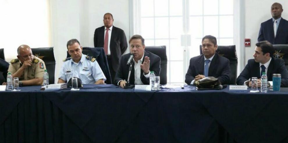 Presidente Varela establece nueva Fuerza Especial Antinarcóticos (FEAN)