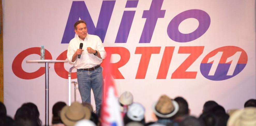 Cortizo insiste en su candidatura a la Presidencia