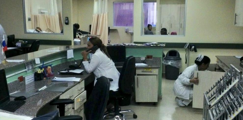 Hospital Irma De Lourdes Tzanetatos funciona en su totalidad