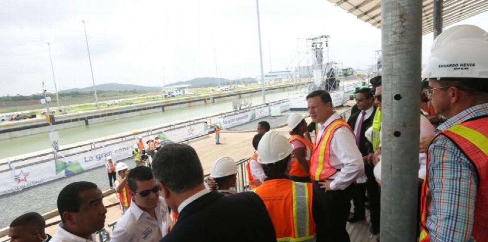 La nuevas esclusas se integran a las operaciones del Canal